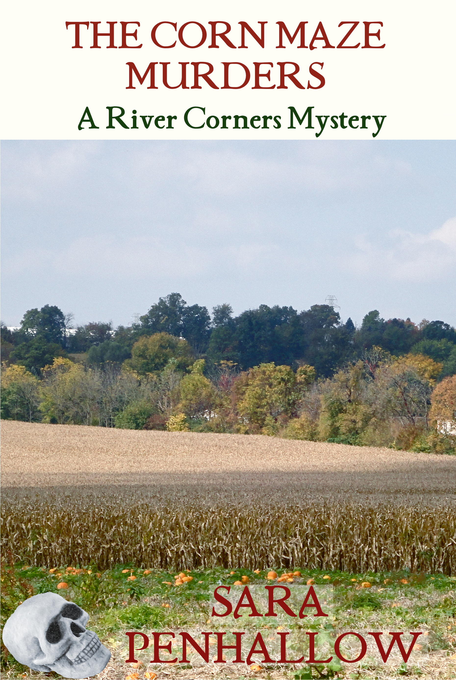 book cover of Corn Maze Murders