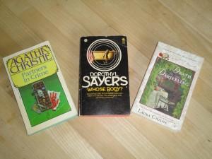 Three cozy paperbacks